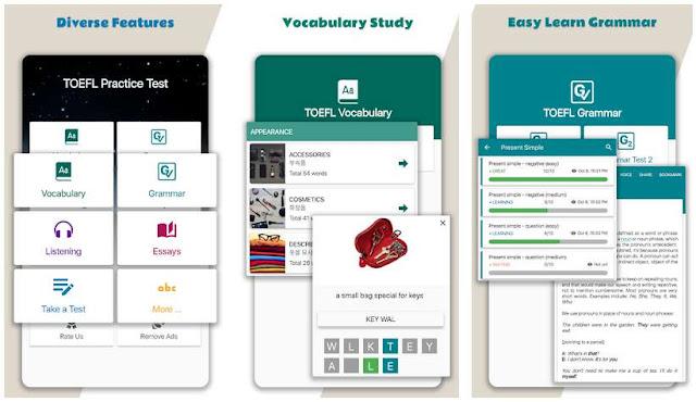 Aplikasi Belajar TOEFL