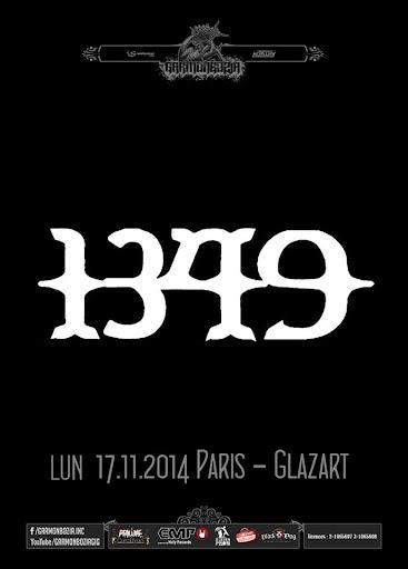 1349 / Atena @ Glazart, Paris 17/11/2014