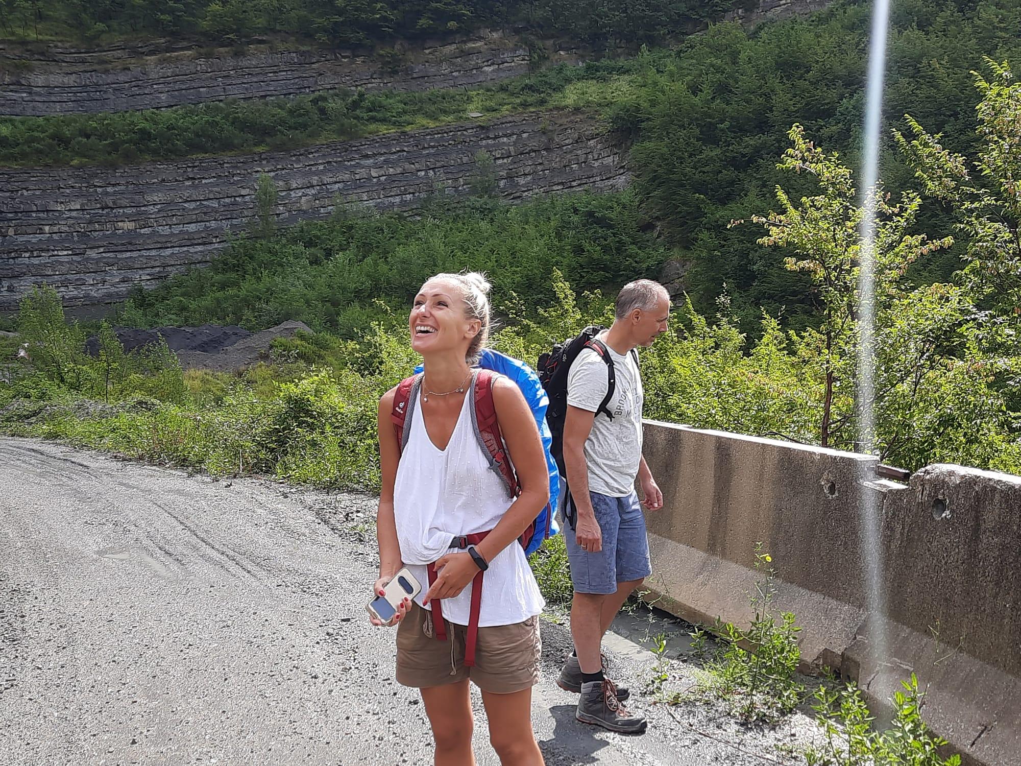 Trekking z domem z kamienia, blog, Marradi Gamberaldi