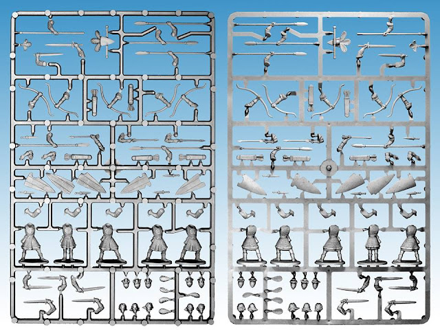 Breaking! Northstar Miniatures: New Plastic Oathmark Elf Warriors Sprue Preview