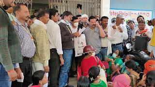 आजाद शिक्षक संघ अध्यापको द्वारा निकाली गई मुख्यमंत्री भविष्य बचाओ रैली