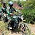 Dengan Berboncengan Motor, Dandim 0727/Karanganyar Tinjau RTLH