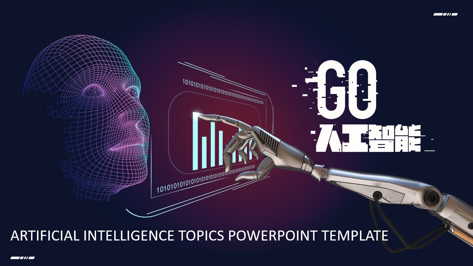 Artificial Intelligence Theme PowerPoint Templates - hoc24h.net