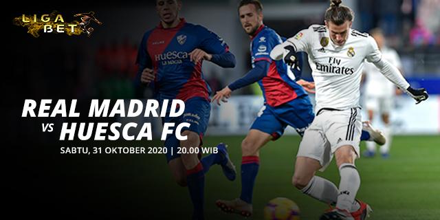 PREDIKSI PARLAY 31 OKTOBER 2020 REAL MADRID VS HUESCA
