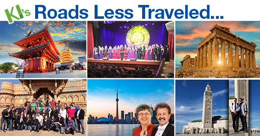 KI's roads less traveled custom & festival choir tours