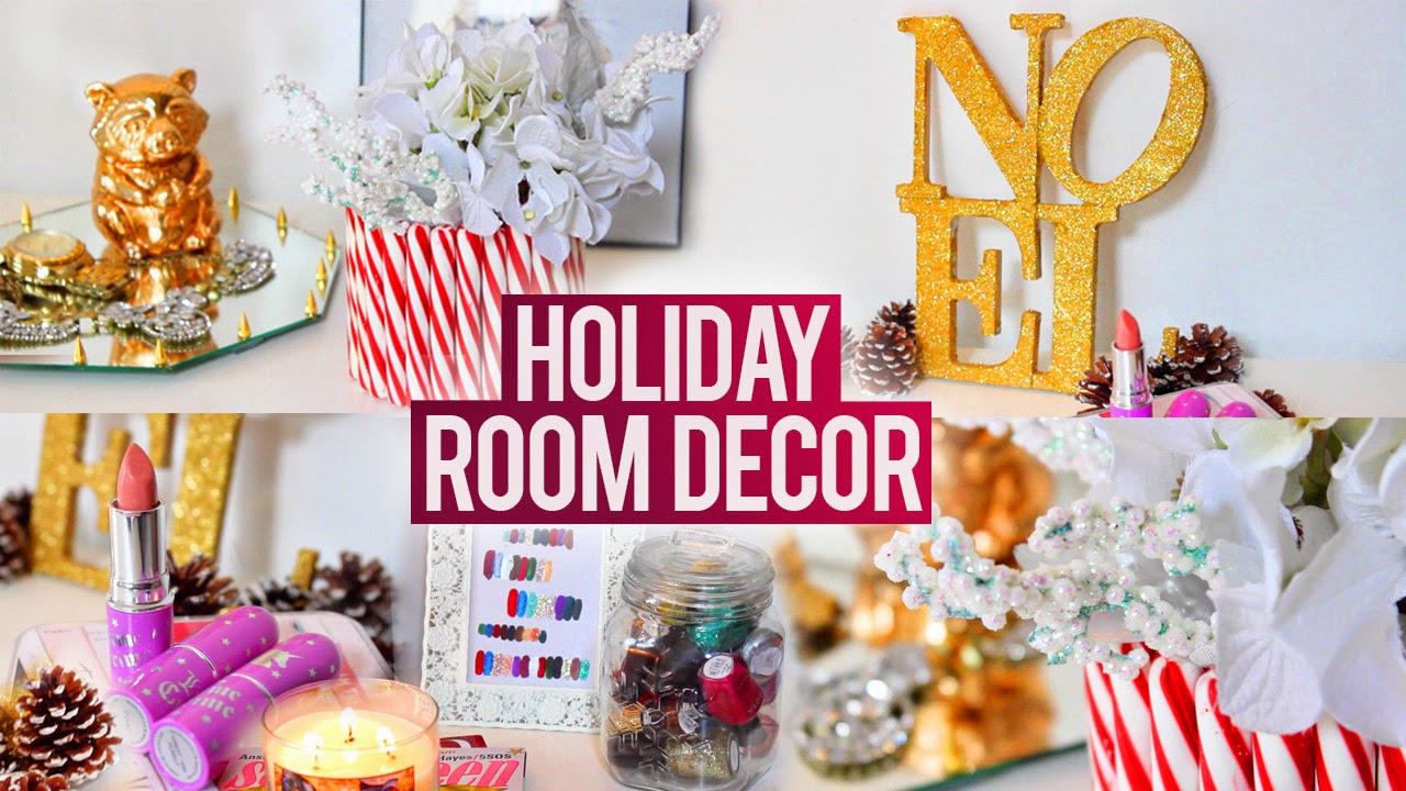Hellomaphie Diy Holiday Room Decorations Easy Fun And
