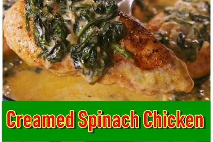Creamed Spinach Chicken