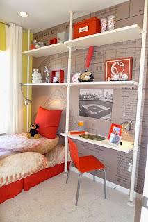 Habitaciones juveniles para espacios peque os ideas para for Amueblar dormitorio juvenil pequeno