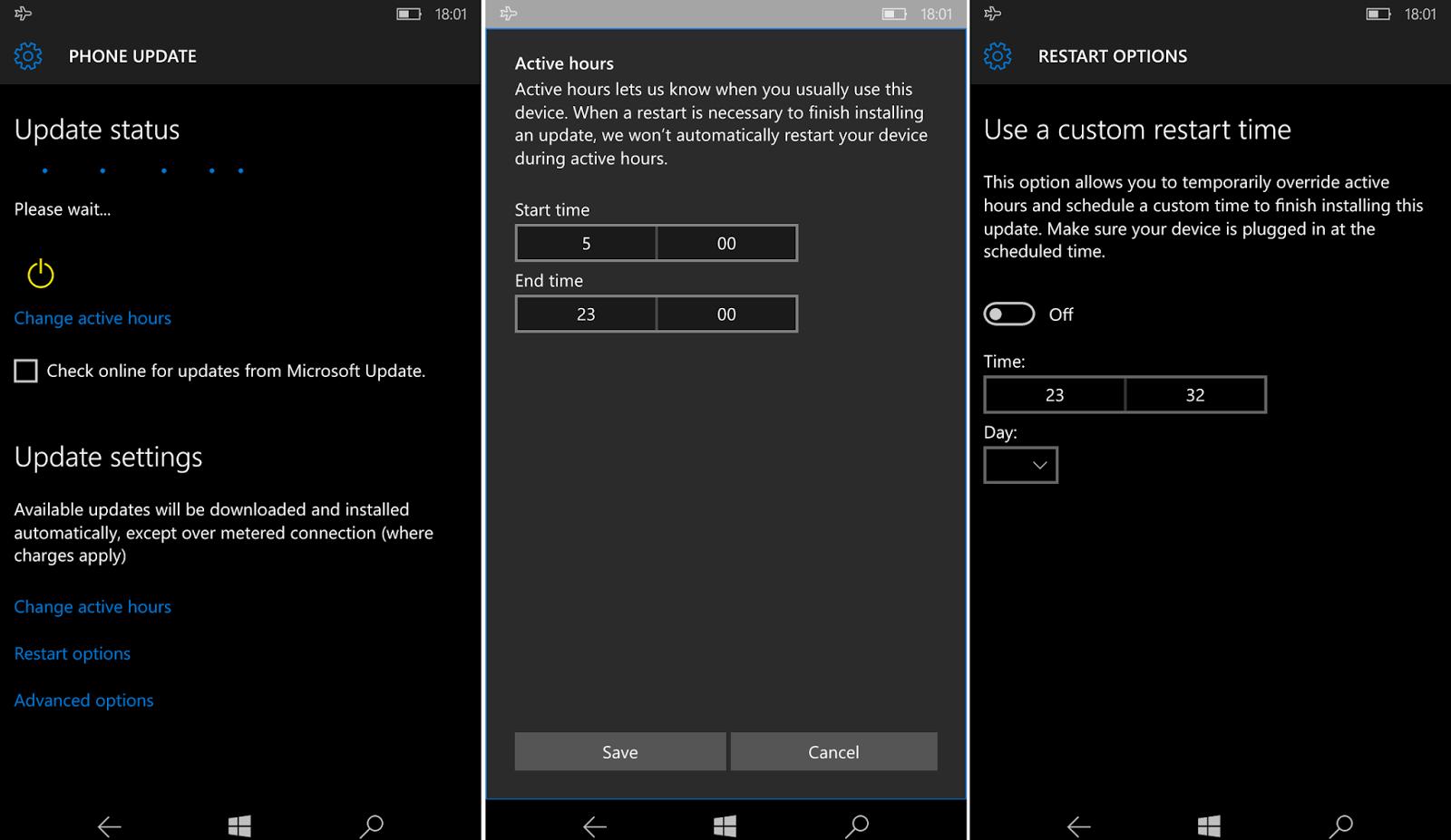 Windows Update si aggiorna in Windows 10 Redstone HTNovo 2