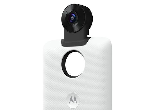 Motorola announces Moto 360 Camera Moto Mod (Updated)