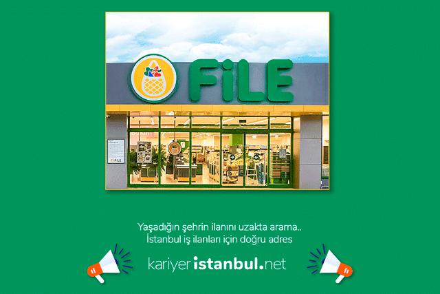 File Market Bayrampaşa Altıntepsi şubesi için mağaza personelleri arıyor. Detaylar kariyeristanbul.net'te!