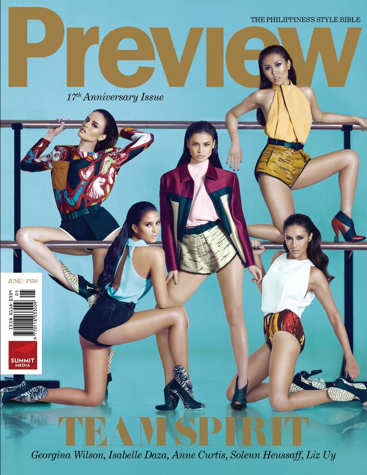 preview magazine june 2012 issue features georgina wilson isabelle