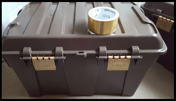 Adding gold hinges to treasure chest
