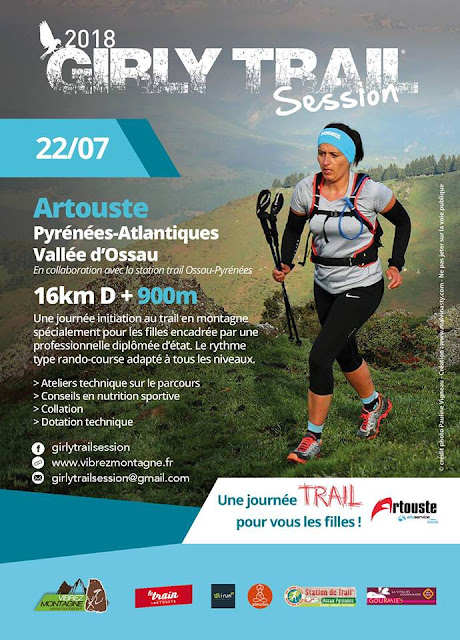 GIRLY TRAIL SESSION Ossau Pyrénées 2018
