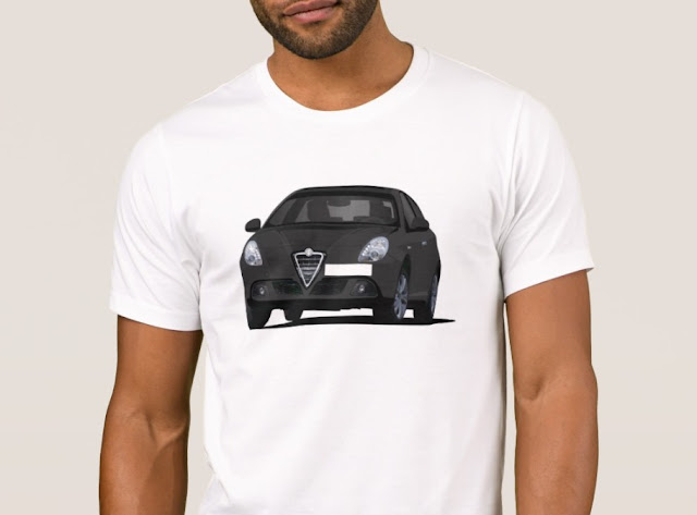 Alfa Romeo Giuletta t-shirt in Zazzle