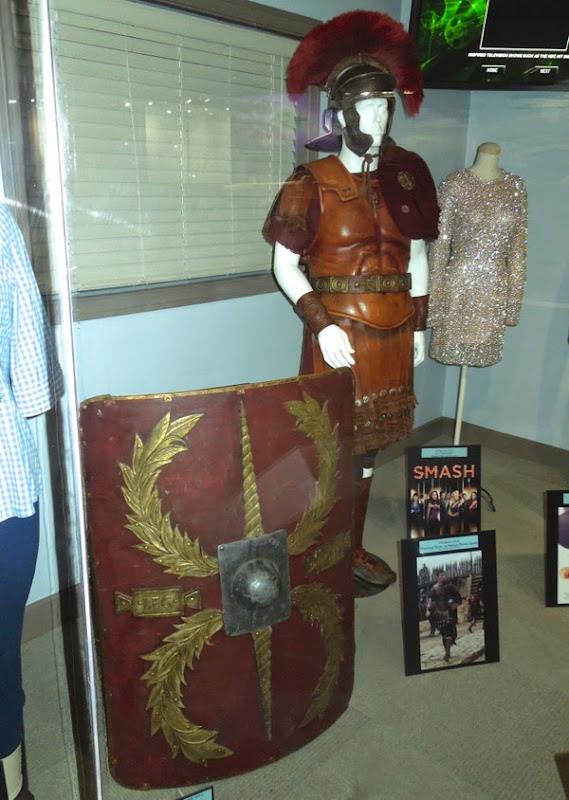 Channing Tatum Eagle Roman centurion costume shield