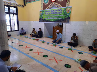 Tingkatkan Iman dan Taqwa,Polres Pelabuhan Makassar Gelar Binrohtal