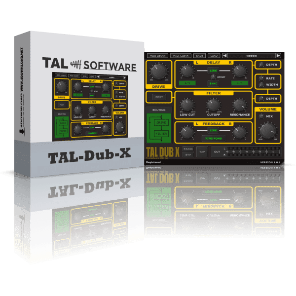 TAL Software - TAL-Dub-X v1.5.1 Full version
