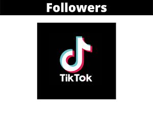 Jual Followers TikTok  Murah Terpercaya (100 Followers)
