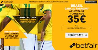 betfair supercuota Brasil gana Paraguay 28 junio 2019