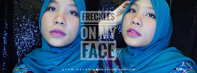 BEAUTIESQUAD COLLAB: FRECKLES ON MY FACE