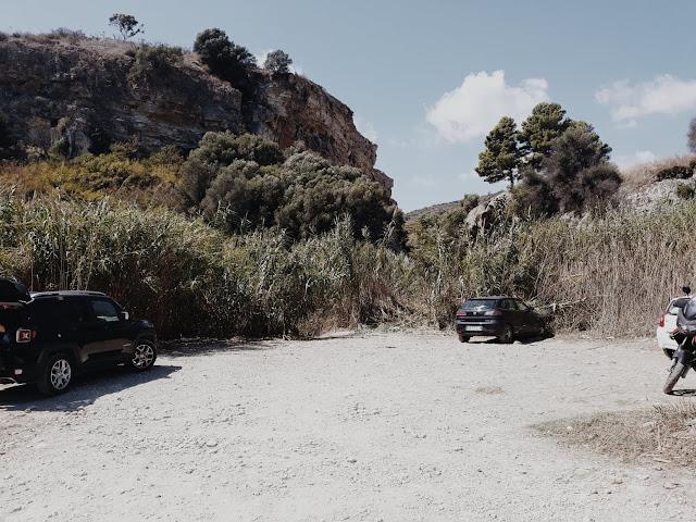 parking darmowe źródła termalne Sycylia