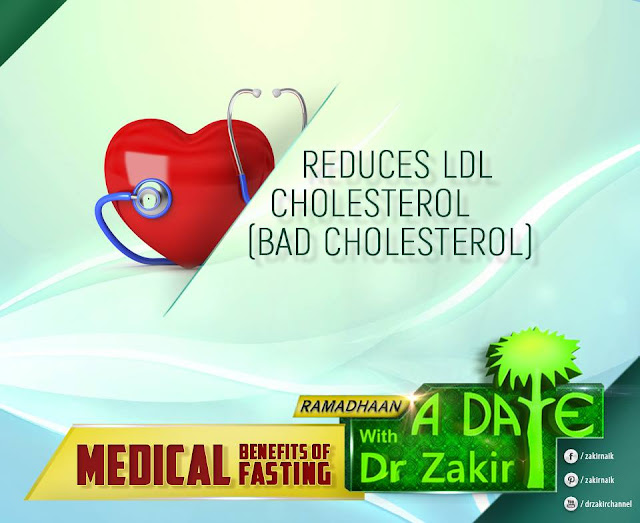 REDUCES LDL CHOLESTEROL (BAD CHOLESTEROL)   RAMADAN 2020 by Ummat-e-Nabi.com