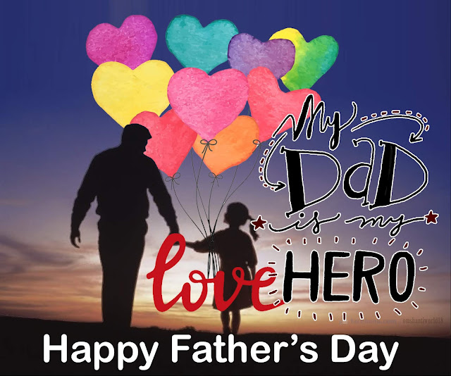 Fathers Day : IMAGES, GIF, ANIMATED GIF, WALLPAPER, STICKER FOR WHATSAPP & FACEBOOK