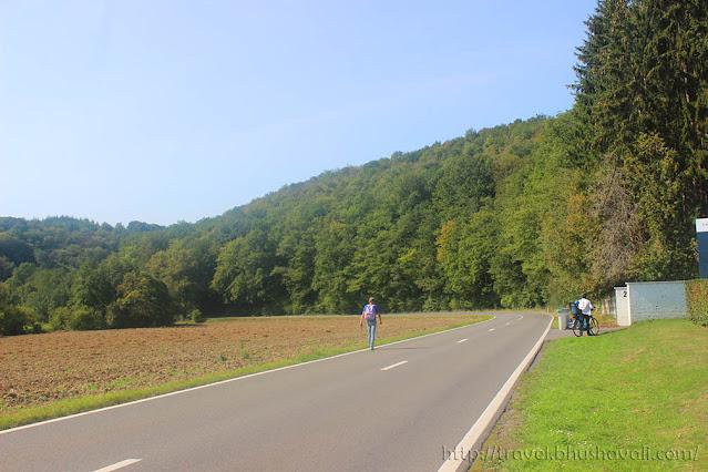 Cycling in Belgium Durbuy