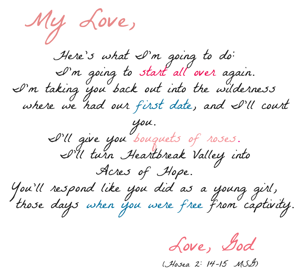 Example of love letter for fieldstation example spiritdancerdesigns Choice Image
