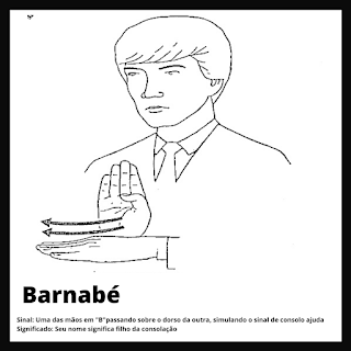 Barnabé em Libras