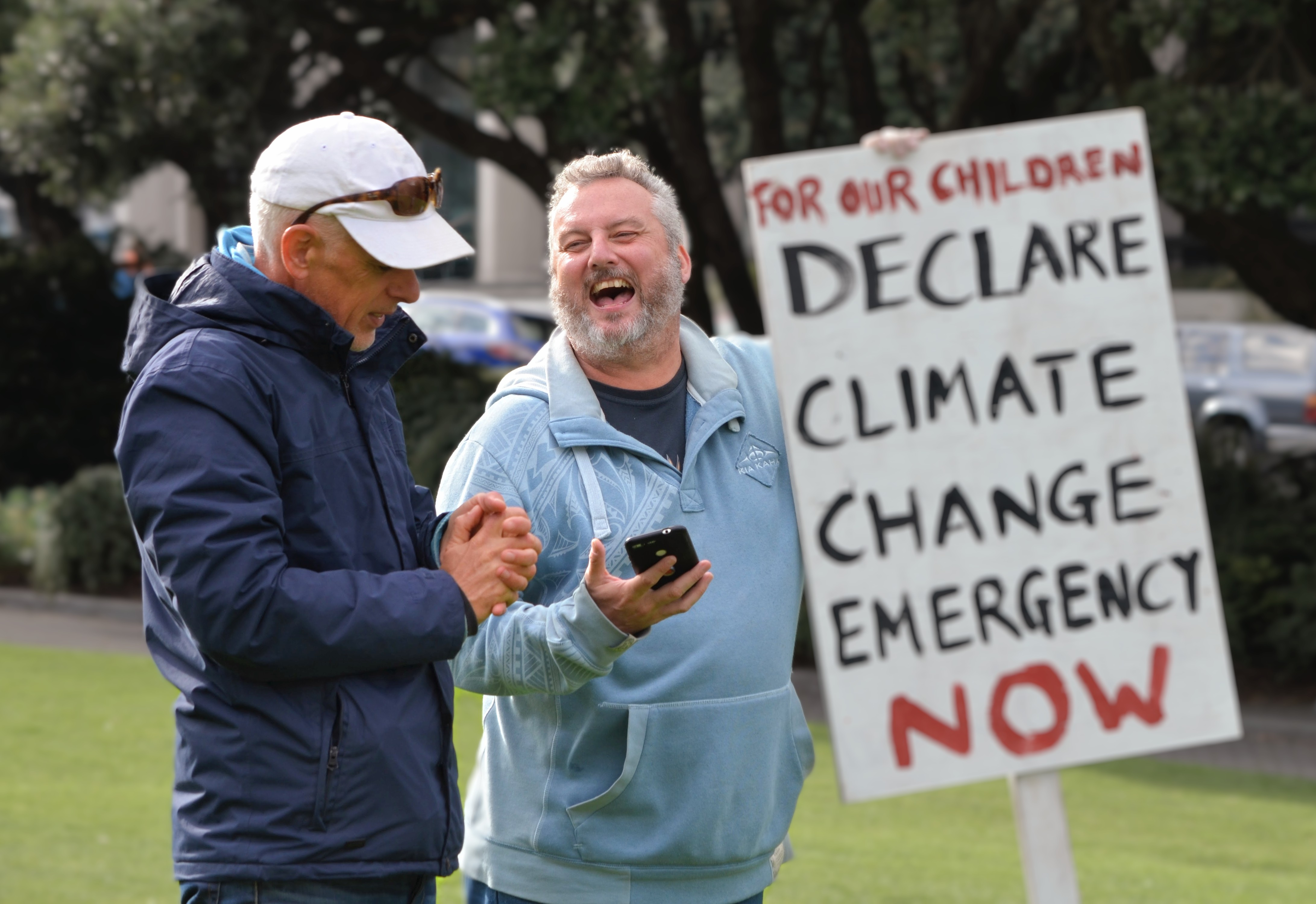 Ollie and Mike, 'Declare Climate Emergency Now'