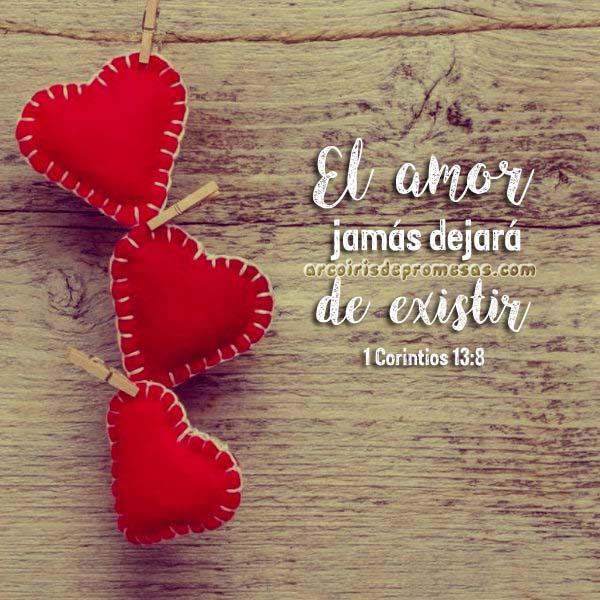 amor verdadero mensajes cristianos con imágenes arcoiris de promesas