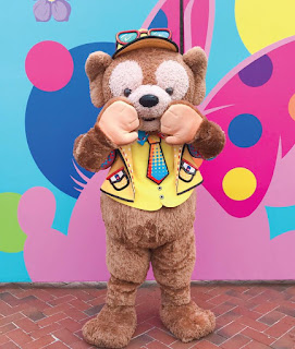 上海迪士尼度假區(Shanghai Disney Resort)2020年「春日限定彩色慶典」(Disney Color-Fest)活動安排, Duffy