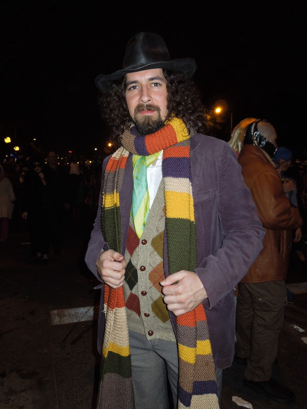 Fourth Doctor Who costume West Hollywood Halloween