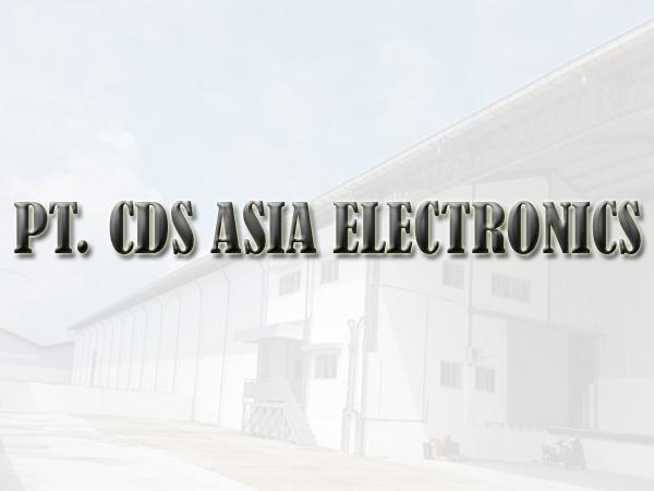 Lowongan Kerja PT CDS Asia Electronics