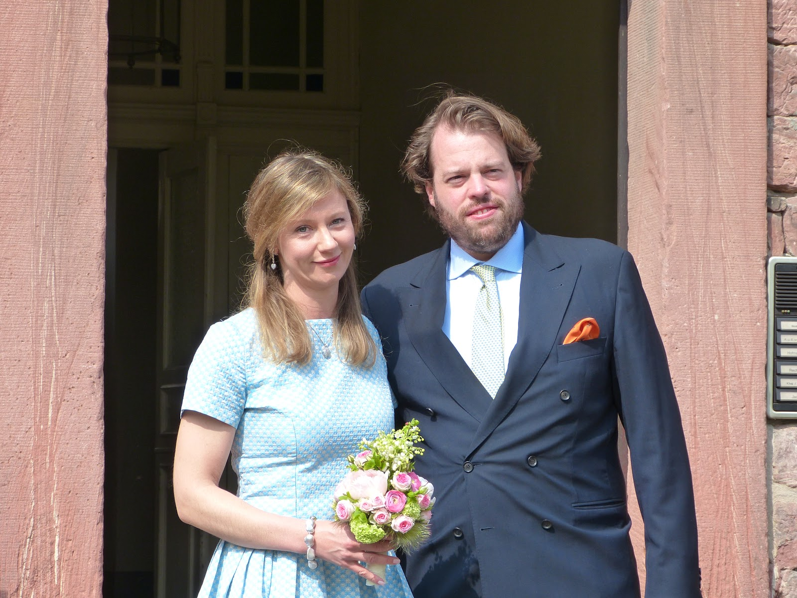 Royal Musings The Civil Marriage Of Hereditary Prince Ferdinand Of Leiningen And Princess Viktoria Luise Of Prussia