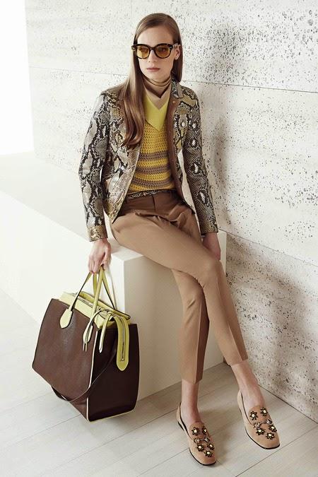 Fashion Runway Gucci Resort 2015 By Frida Giannini
