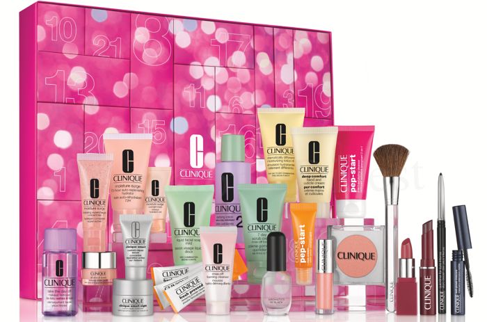 Clinique Advent Calendar 2019 spoilers and contents