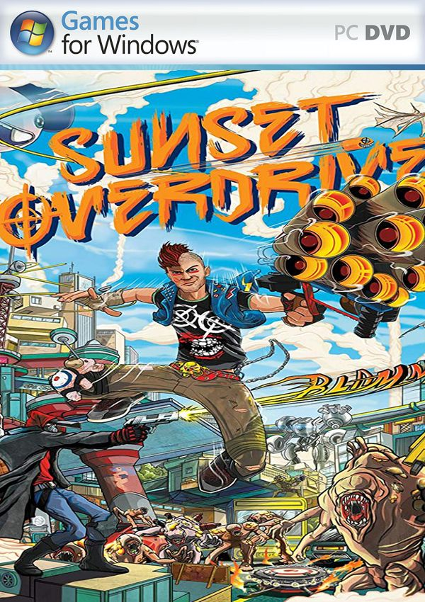 Sunset Overdrive PC Cover