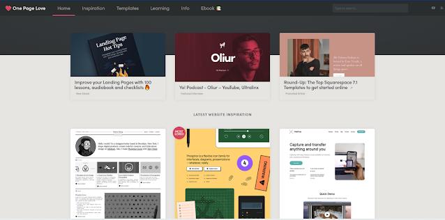 9 situs  inspirasi Keren bagi Designer dan UI/UX