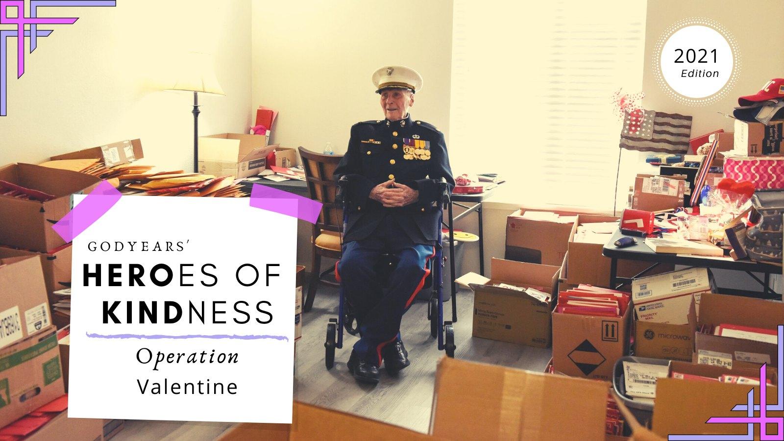 old US war veteran