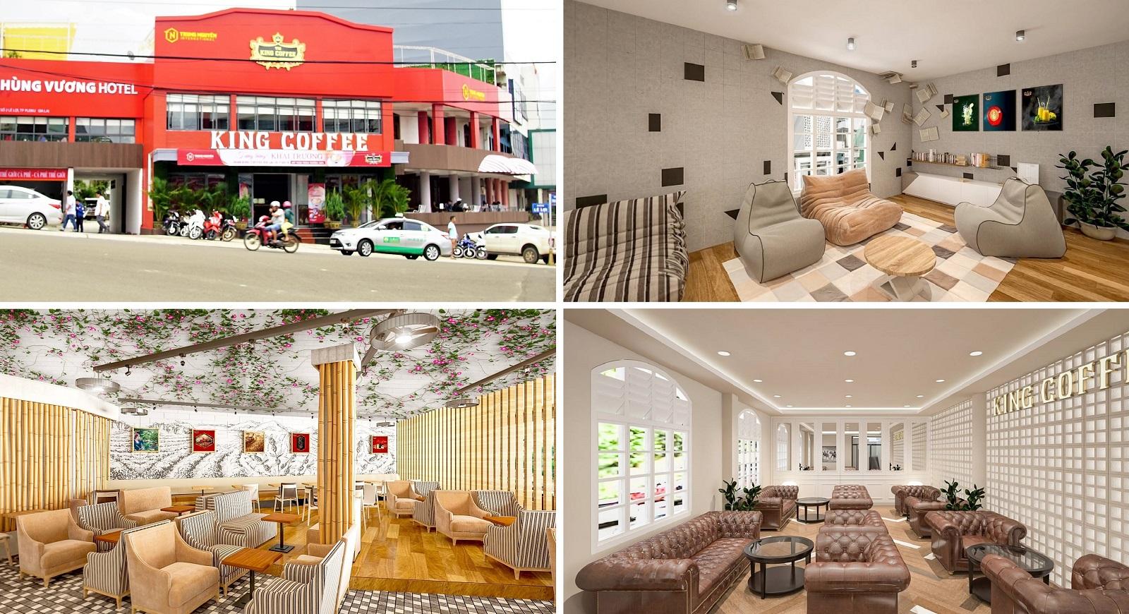 Chuỗi quán cafe đình đám King Coffee xuất hiện ở Gia Lai, dân tình rần rần rủ nhau đến check-in