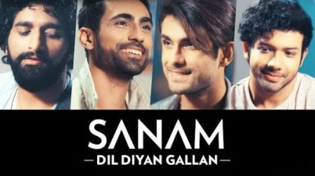 Dil Diyan Gallan Lyrics - SANAM PURI | Tiger Zinda Hai