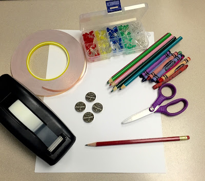 Making Paper Circuits with Kids
