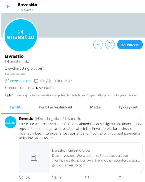 Envestio Twitter