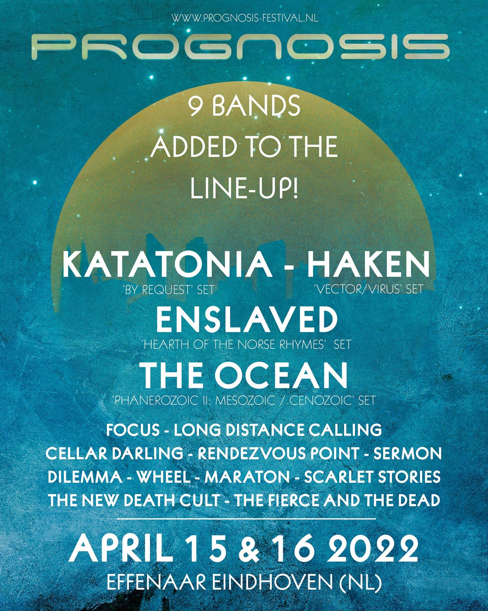 prognosis festival line up