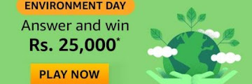 Amazon Environment Quiz Answers Win - Rs.25000