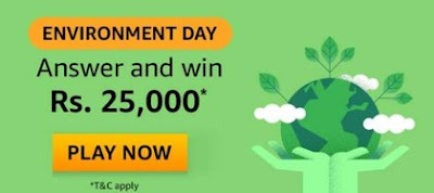 Amazon Environment Day Quiz Answers