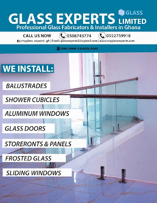 """Three (3) Reasons Why Everyone In Ghana Is Talking About """"Glass Experts Limited"""" (Read, Watch Photos + Video)"""